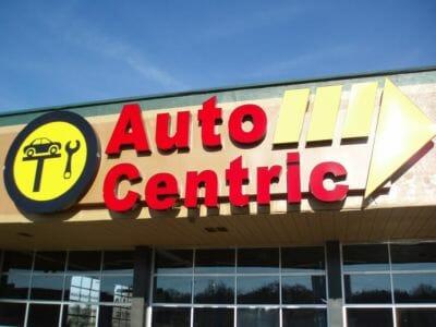 Auto Centric Sign