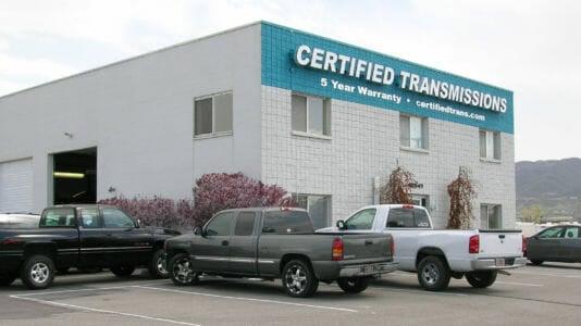Certified Transmissions Draper UT