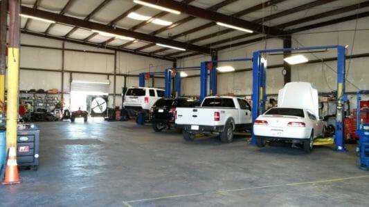 Scotts Automotive shop
