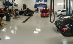 Garage flooring choices