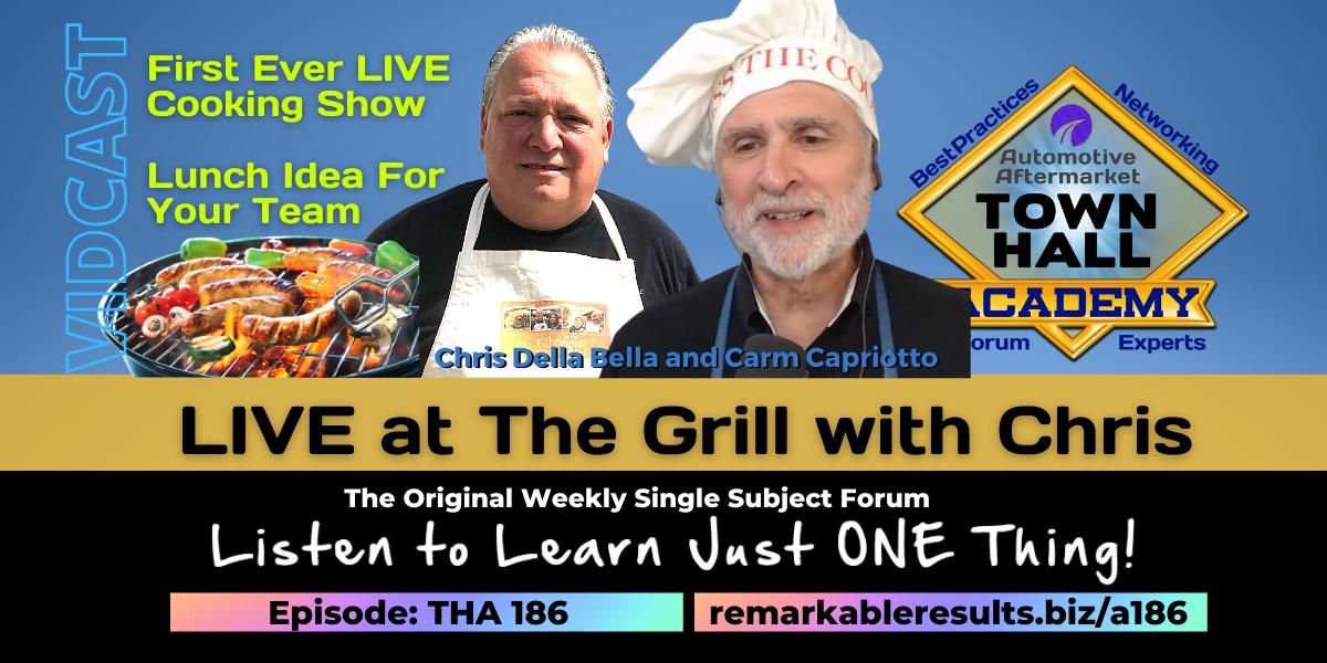 PODCAST: Live at the Grill with Chris Della Bella