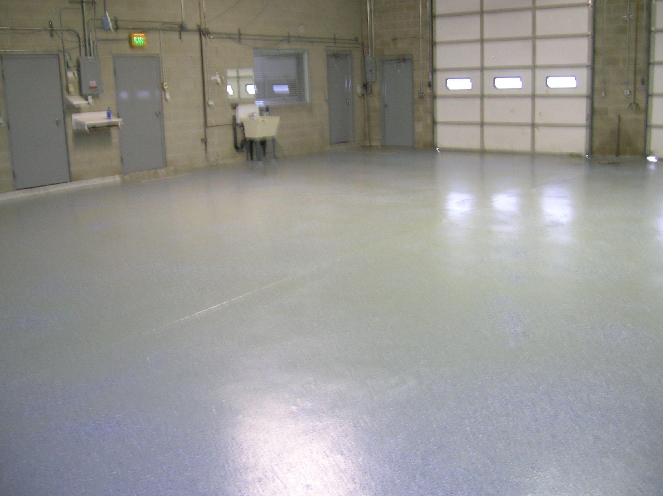 Semi-Gloss Epoxy Floor Coating