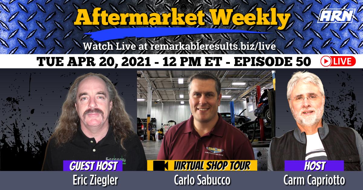 Eric Ziegler and Shop Tour with Carlo Sabucco [AW 050] – VIDEO 35 Minutes
