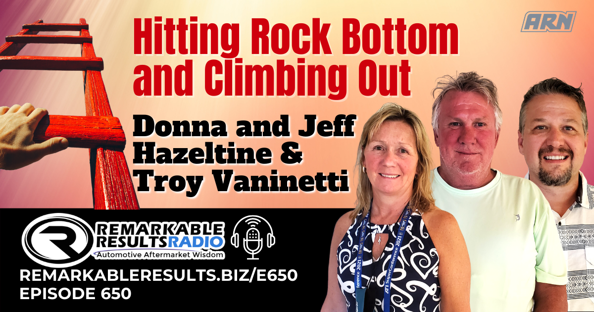 Hitting Rock Bottom and Climbing Out [RR 650] – AUDIO 33 Minutes