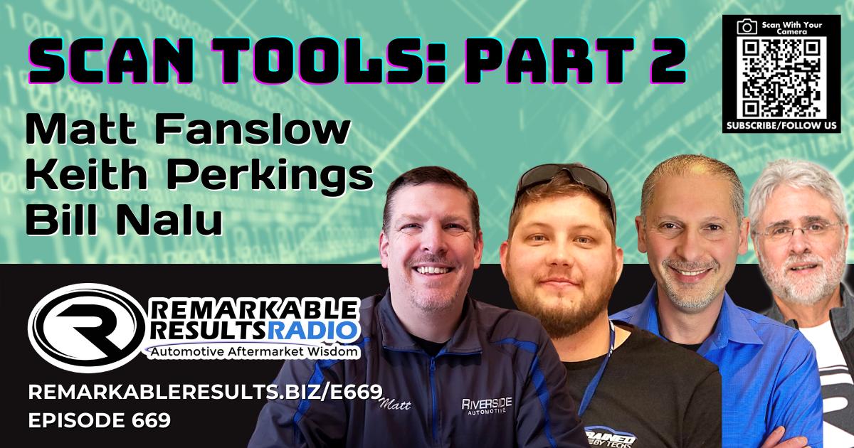 Scan Tools: Part 2 [RR 669] – AUDIO 43 Minutes