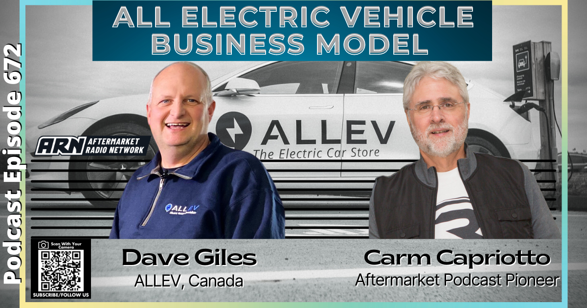 All Electric Vehicle Business Model [RR 672] – AUDIO 44 Minutes