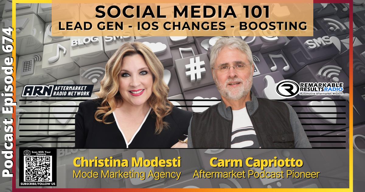 Social Media 101: Lead Gen, IOS Changes, Boosting [RR 674] – AUDIO 40 Minutes
