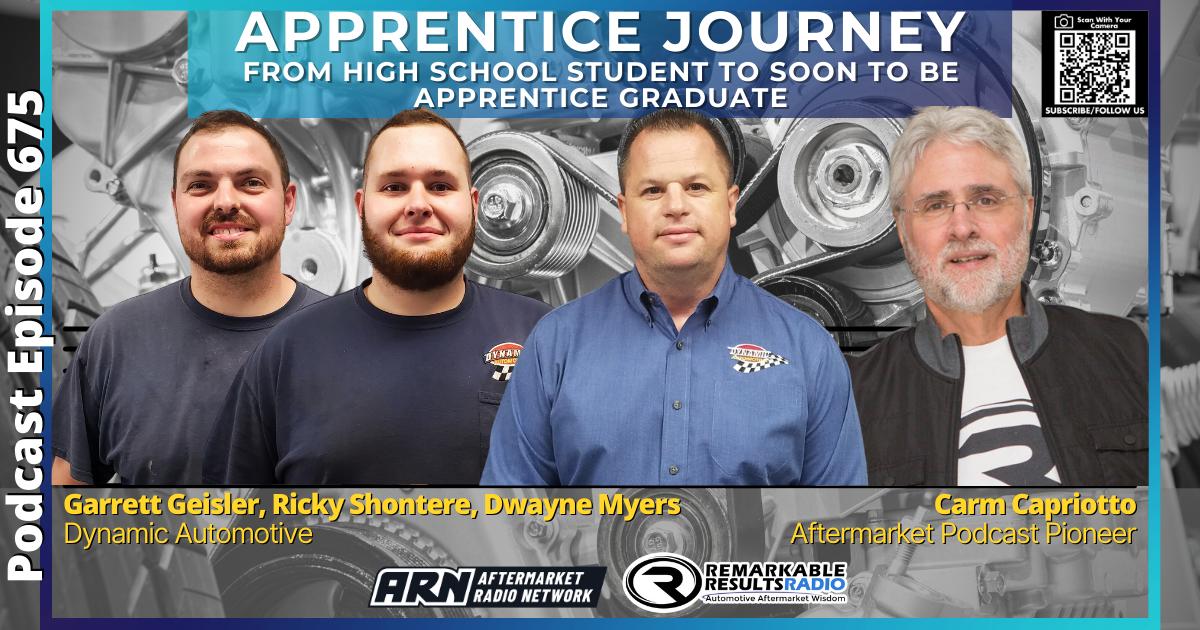 Apprentice Journey – High School To Graduate [RR 675] – AUDIO 36 Mins
