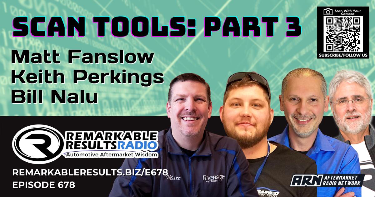 Scan Tools Part 3 [RR 678] – AUDIO 55 Minutes