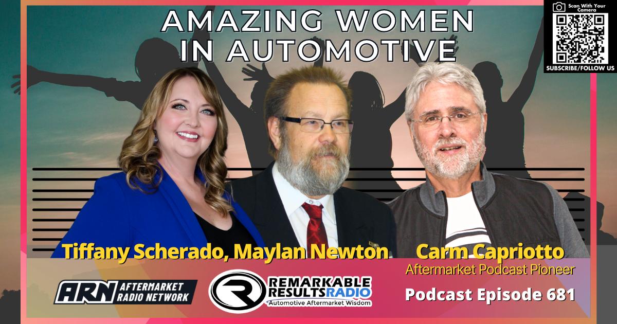 Amazing Women in Automotive [RR 681] – AUDIO 38 Minutes