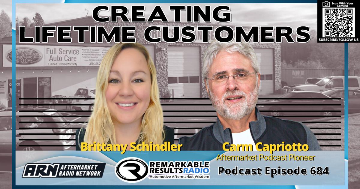 Creating Lifetime Customers [RR 684] – AUDIO 26 Minutes
