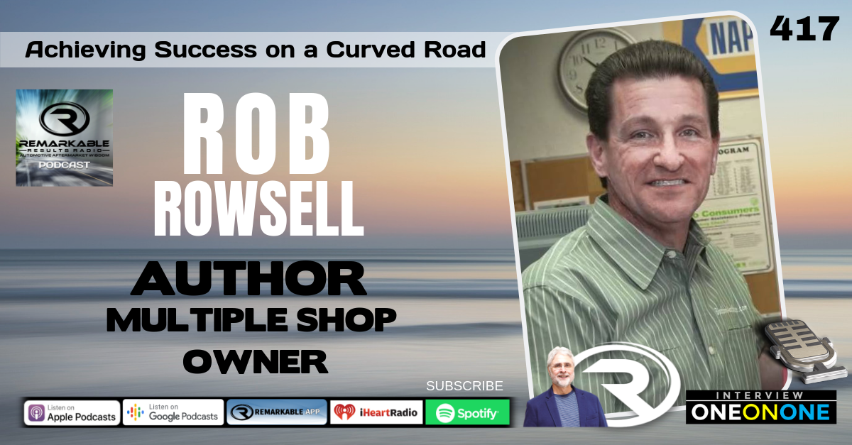 PODCAST: Rob Rowsell – Achieving Success on Life's Curved Road