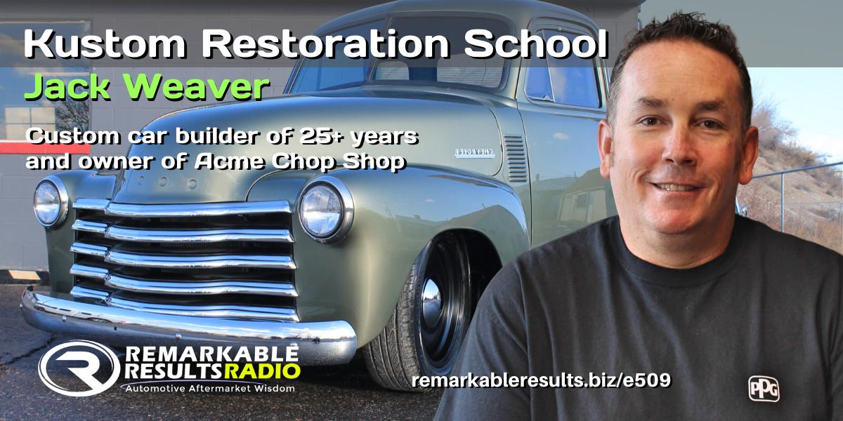 PODCAST: Kustom Restoration School [RR 509]