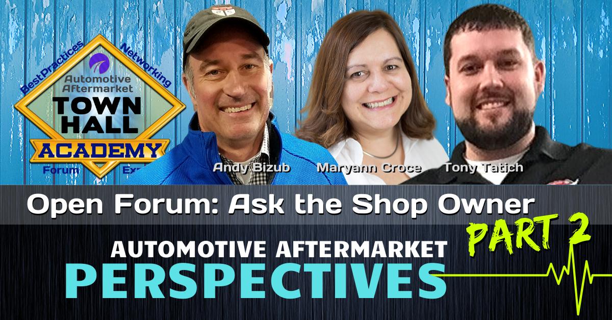 PODCAST: Shop Owner Forum Part 2  [THA 160 ]
